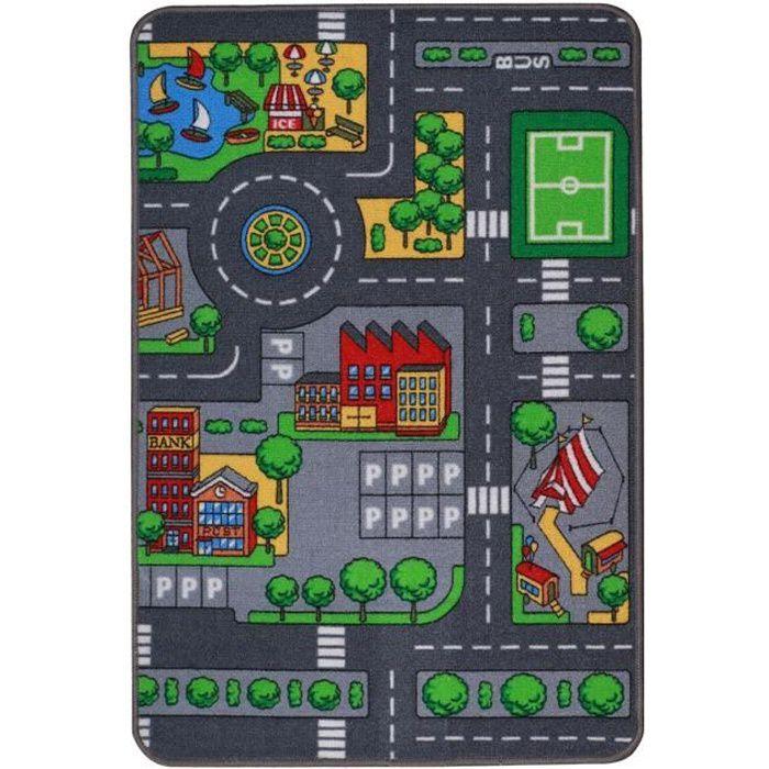 Tapis de jeu circuit Autres Gris
