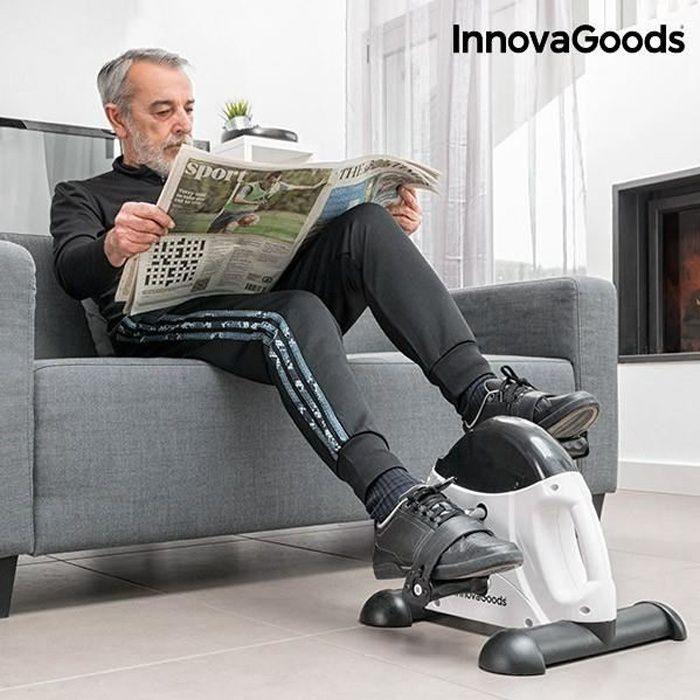 Pédaleur de Fitness 5 fonctions - Mini-vélo pour bras et jambes, vélo d appartement avec temps, distance, tours et calorie