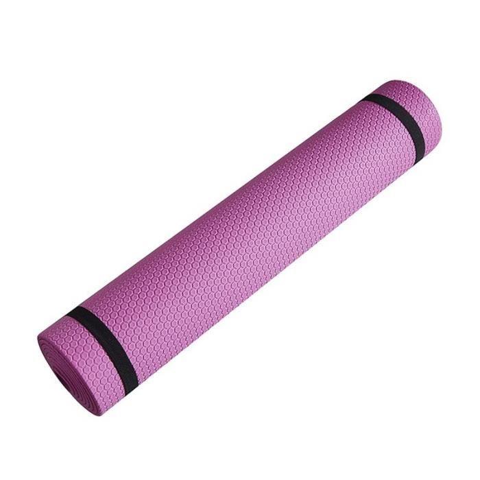 Tapis de sol en mousse épaisse EVA antidérapante, 3-6 mm,pour des exercices de yoga, sport, Pilates et gymnastique, [B34FA6C]