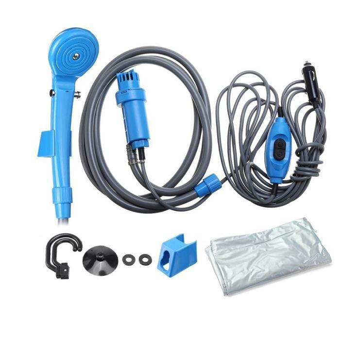 Lave-auto Portable 12V, douche de Camping, douche de voiture, haute pression, pompe électrique pour Camping en plein air, voyage