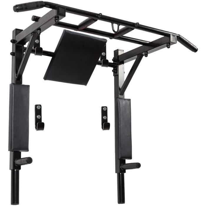 DIP STATION te Barre de traction murale avec barre de traction et station de dip Up Stand compact Power Tower pour inteacuterieu406