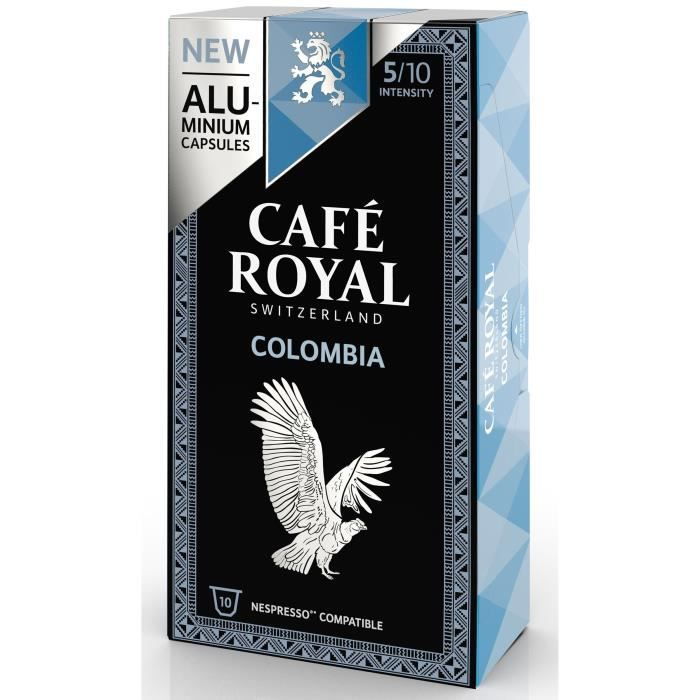 CAFE ROYAL compatible Nespresso Alu Colombia x10