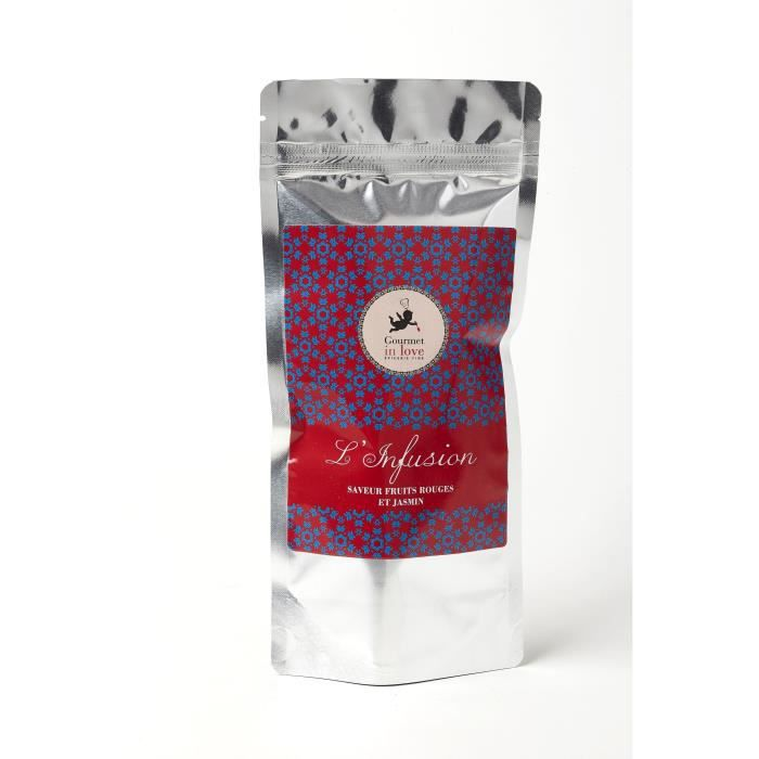 GOURMET IN LOVE Infusion Saveur Fruits Rouges et Jasmin Zip Pack - 40 g