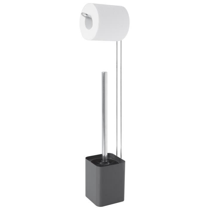 Serviteur WC métal Carbone