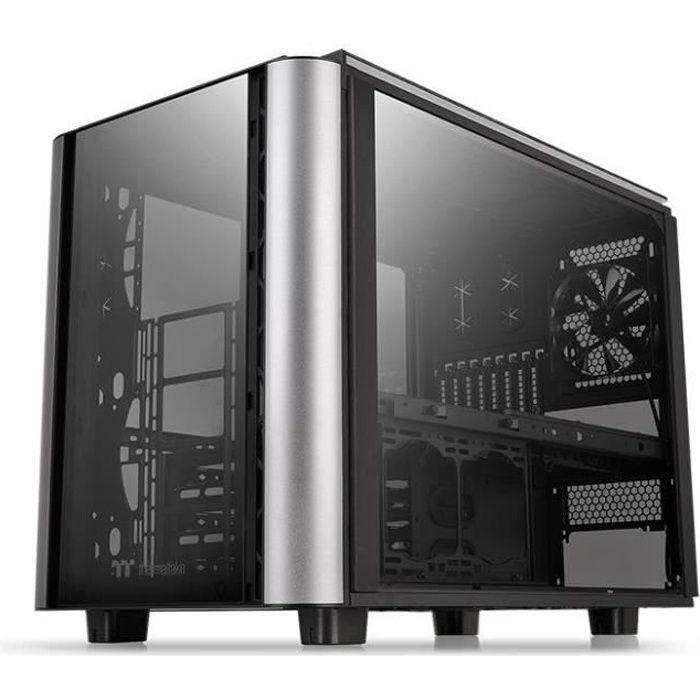 Thermaltake Level 20 Xt Boitier Pc cube Gaming E Atx 4 verres trempés 1x140mm Noir