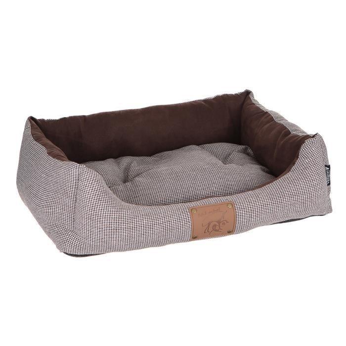 VADIGRAN Panier réversible pour chien Laponie brun/café 60 x 48cm