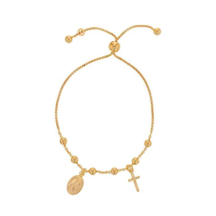 BRACELET - GOURMETTE Jouailla - Bracelet réglable GYPSY MARIA avec boul