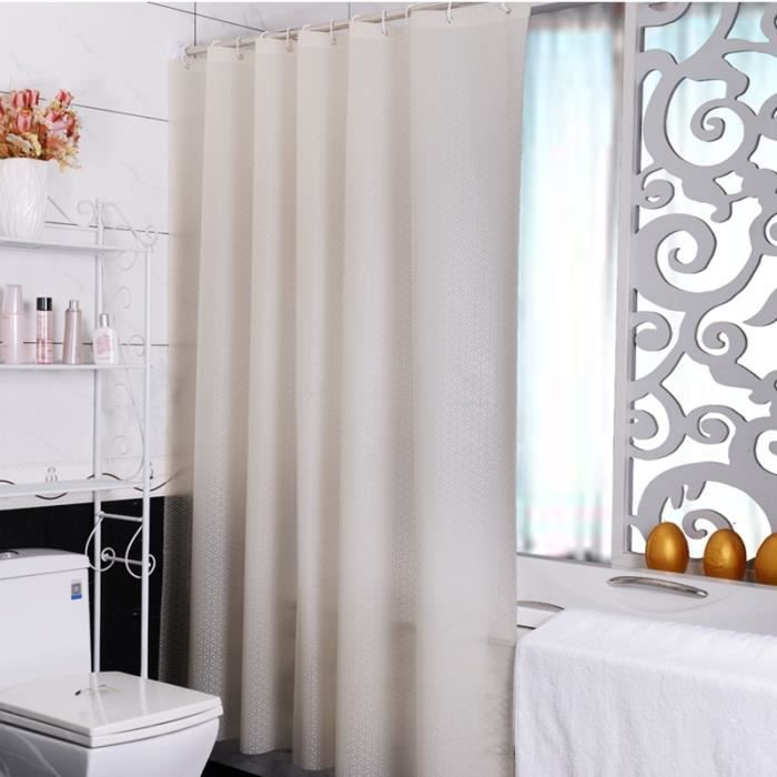 180cm 180cm rideau de douche haute qualit shower curtain tringle original barre rideaux douche. Black Bedroom Furniture Sets. Home Design Ideas