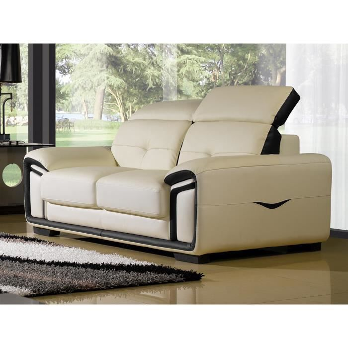 Cdiscount salon cuir maison design for Vente sofa montreal