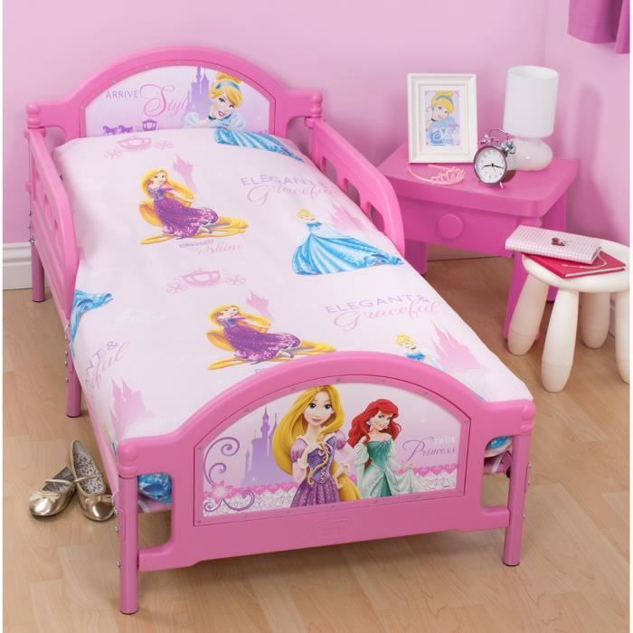 Pack literie princesse sparkle disney couette achat for Literie couette
