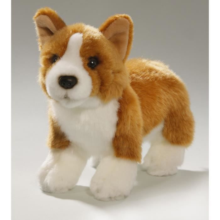 peluche chien de corgi 21cm jouet achat vente peluche cdiscount. Black Bedroom Furniture Sets. Home Design Ideas