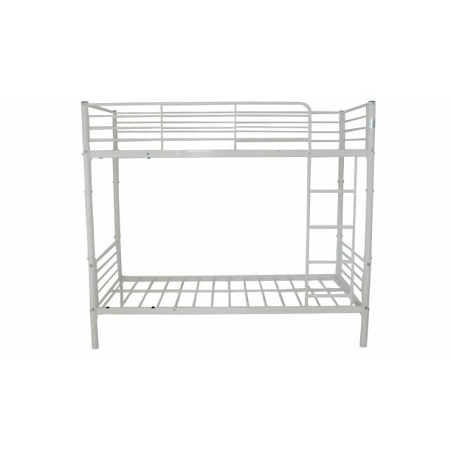 Lit superpose 90x190 separable metal blanc achat vente lits superposes li - Lit superpose metal blanc ...
