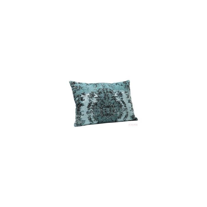 coussin kelim pop turquoise 60x40 kare design achat. Black Bedroom Furniture Sets. Home Design Ideas