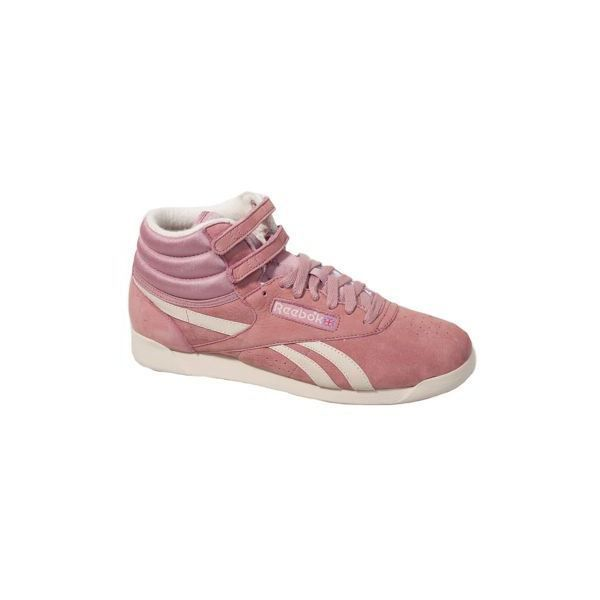 basket reebok freestyle hi vint femme rose achat. Black Bedroom Furniture Sets. Home Design Ideas