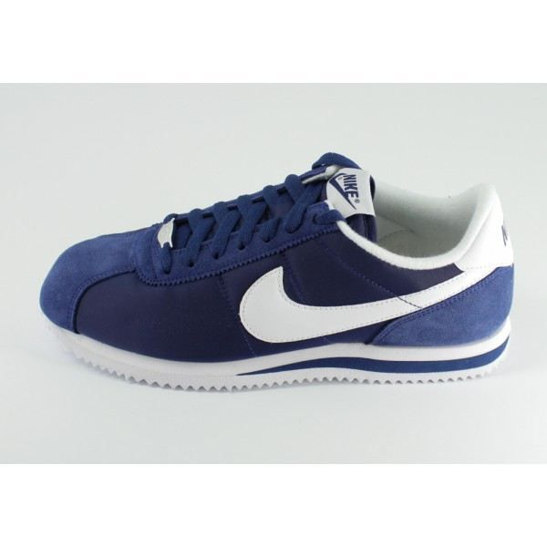 check out 9fb27 bd4de Basket Nike Classic Cortez Nylon… Bleu Blanc