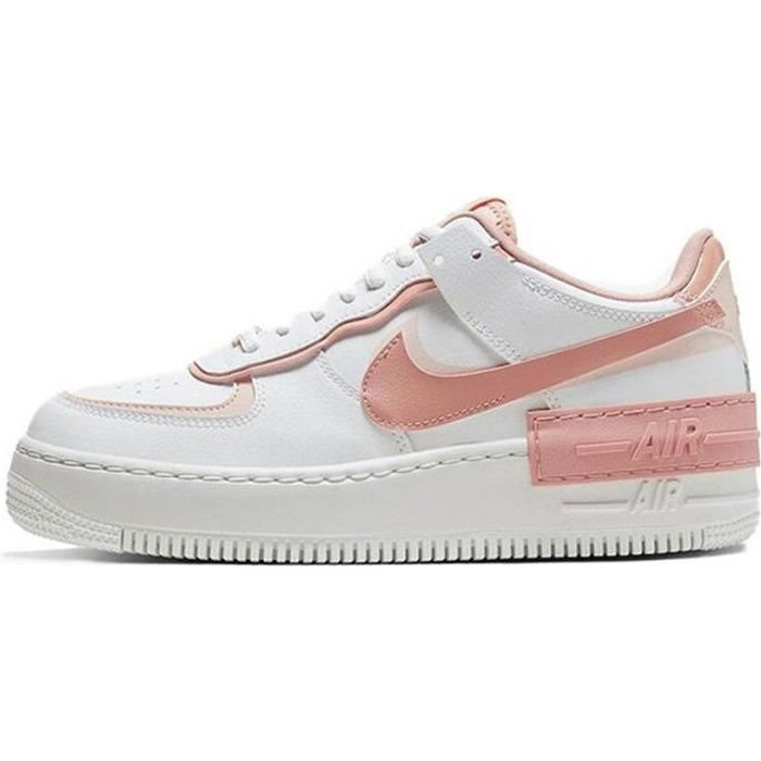 Air Force 1 Shadow CJ1641-101 Chaussures pour Femme Rouge ...