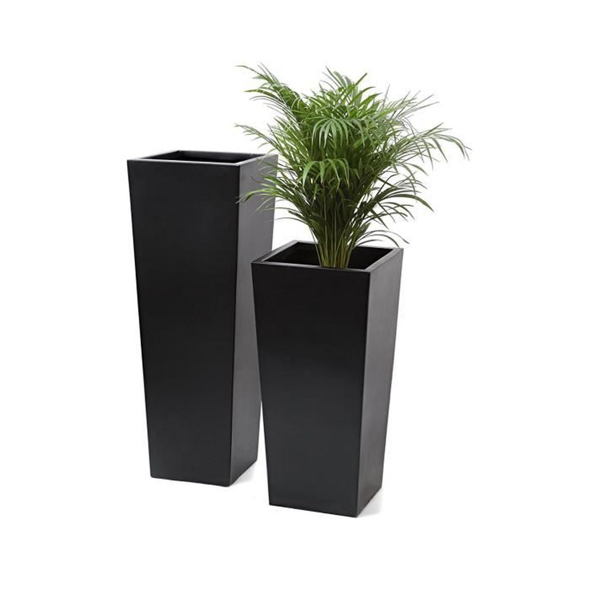 primrose grand cache pot vas noir obscur petit achat. Black Bedroom Furniture Sets. Home Design Ideas