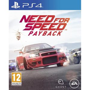 JEU PS4 Need For Speed Payback Jeu PS4