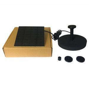 FONTAINE DE JARDIN Kit de fontaine de pompe à eau de jardin pour étan