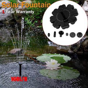 FONTAINE DE JARDIN Plierty®Pompe à eau solaire extérieure de bain de
