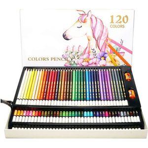 CRAYON DE COULEUR Boîte de 120 Crayons de Couleur , Les Meilleurs Cr