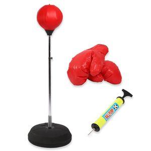 SAC DE FRAPPE Set de Boxe Punching Ball - Avec Gants de Boxe et