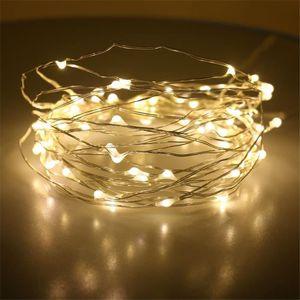 GUIRLANDE DE NOËL Chaîne de LED allume la lumière d'étoile extérieur