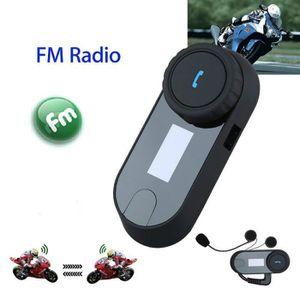 INTERCOM MOTO Boblov TCOM-SC Intercom Moto Casque Moto Bluetooth