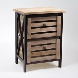 caisse de rangement bois achat vente pas cher. Black Bedroom Furniture Sets. Home Design Ideas