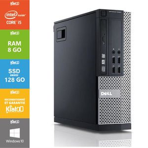 ORDI BUREAU RECONDITIONNÉ Pc bureau DELL OPTIPLEX 7010 core i5 8go ram 128 g