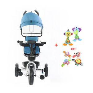 TRICYCLE Tricycle évolutif 2-5 ans Enfant 360° Rotation Siè