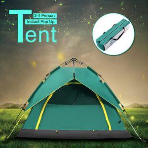 TENTE DE CAMPING TEMPSA Tente 3-4 Personnes de Camping Pop Up Ouver