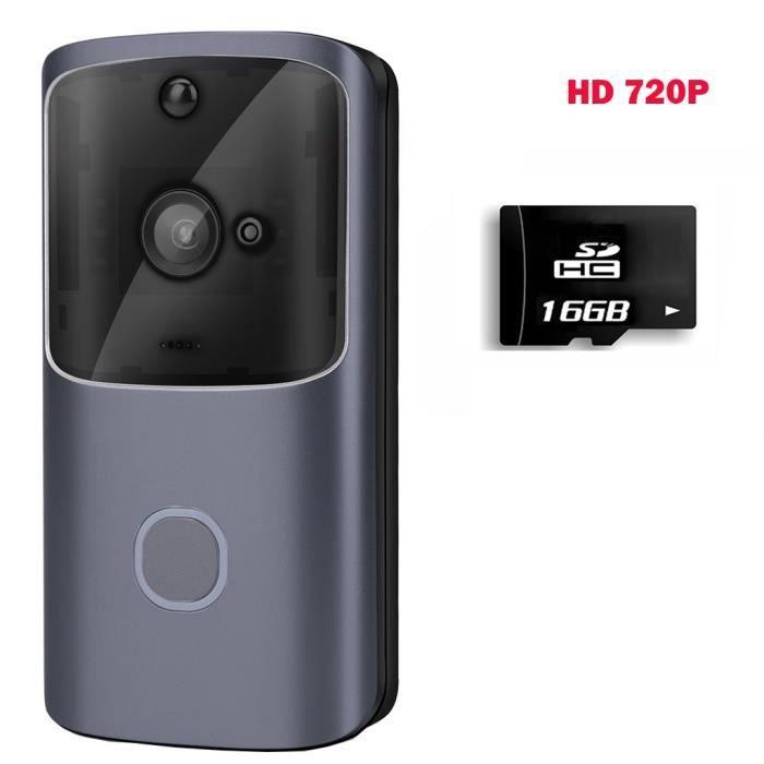 Sans fil WiFi DoorBell Smart Video Phone Interphone visuel Door Bell Secure Camera _ouniondo 5208