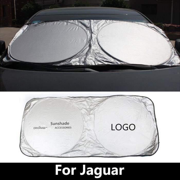 Pare-brise de voiture pare-soleil pour Jaguar f-pace f-type i-pace XE XF X250 XJ x-type s-type XK couvercl - Modèle: - ANZYBUA06168