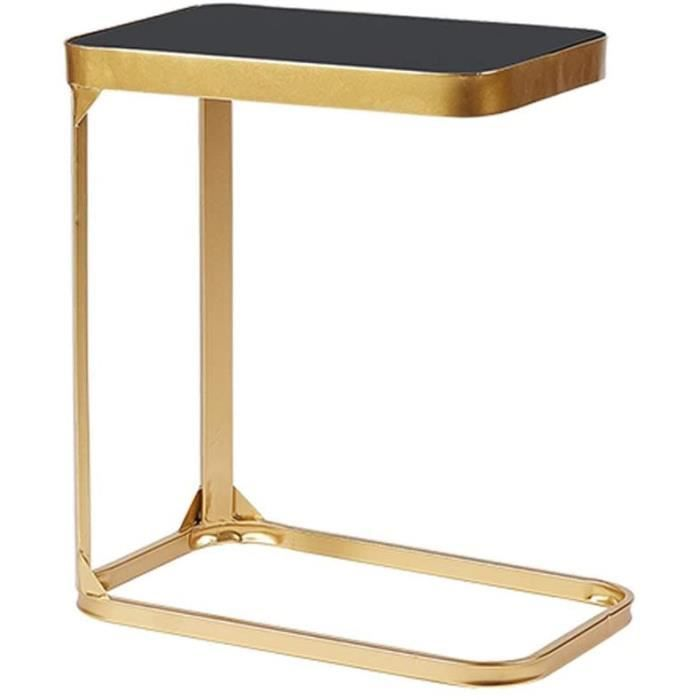 Tables basses zlw-shop Table Basse Nordic Minimalist Table Basse en Verre tremp&eacute Chambre Chambre Petite Table Fer forg&ea182
