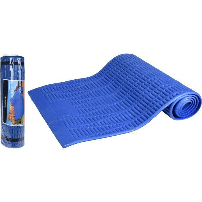 Redcliffs tapis isolant pour le camping, le fitness, le yoga, les pilates 180x59x1cm bleu