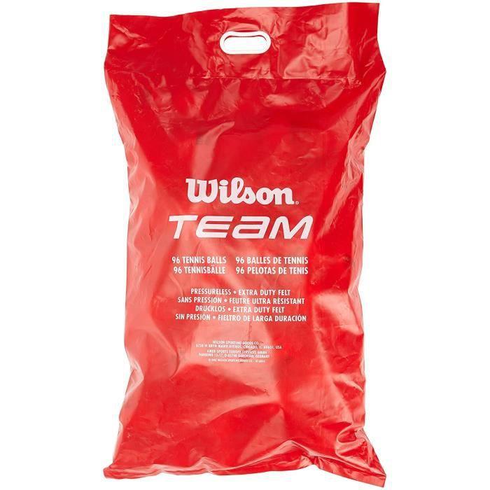 BALLE DE TENNIS s de Tennis Wilson Team Trainer2