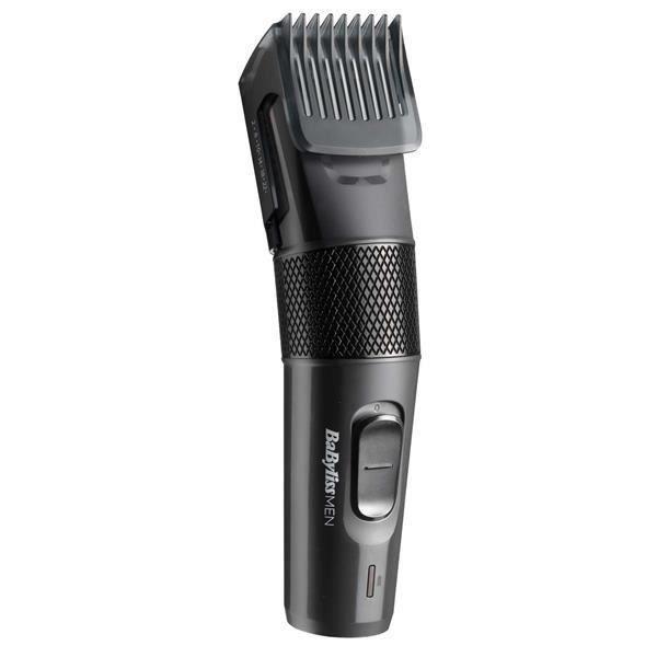 BABYLISS E786E - Tondeuse à cheveux Precision Cut - Avec ou sans fil - 1 sabot réglable - 13 hauteurs de coupe - Autonomie 60min