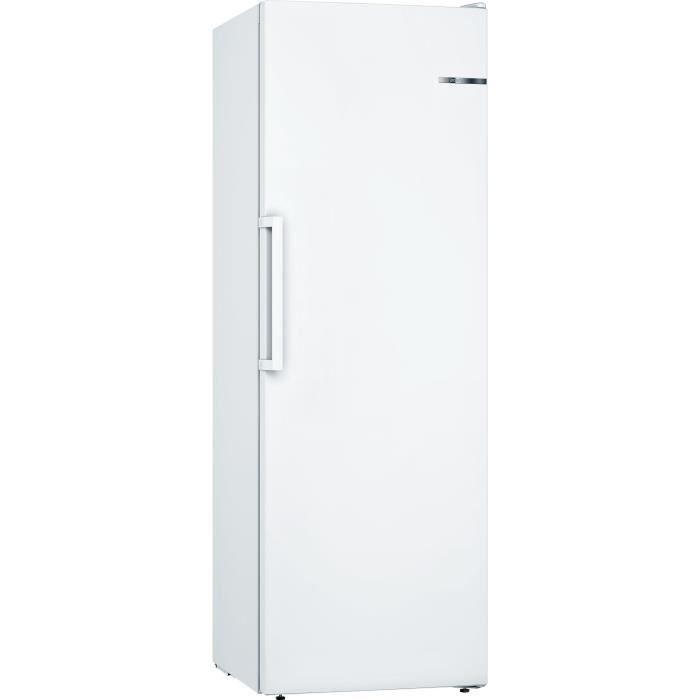 BOSCH GSV33VWEV - Congélateur armoire pose libre - 220L - Froid statique - Classe A++ - 60x176cm - Blanc