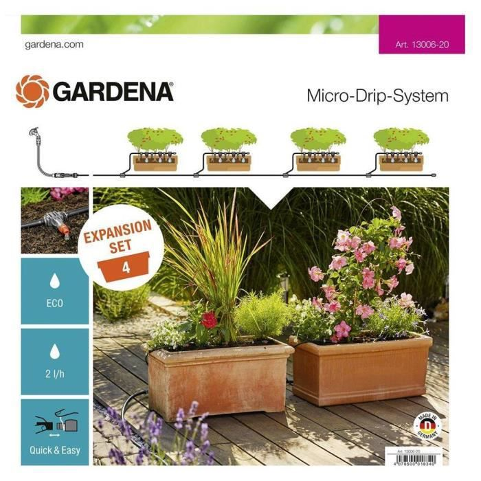 Gardena Set d'extension Micro-Drip-System Orange 35 x 20 x 19 cm 13006-20