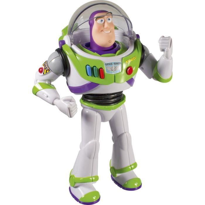 TOY STORY 4 Figurine Personnage parlant Buzz L'éclair 30 cm environ