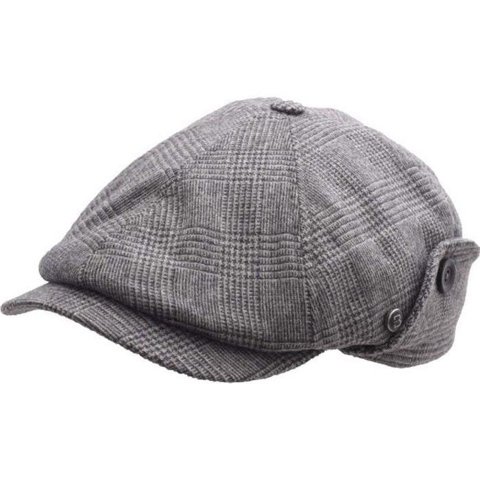 Béret-casquette homme Style Wegener