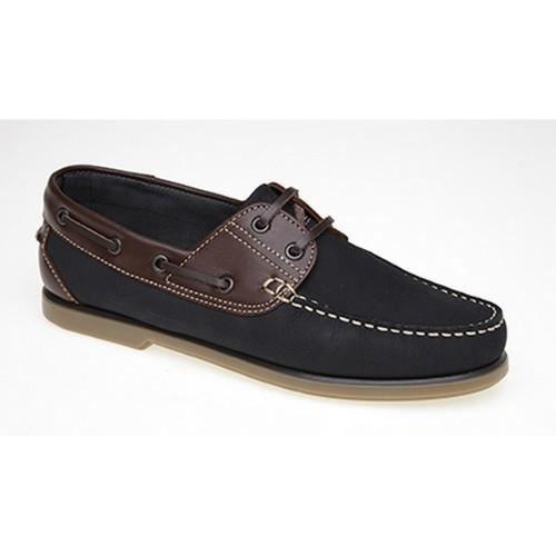 Dek - Chaussures bateau - Homme Bleu marine/nub...