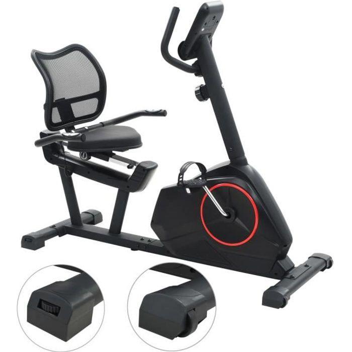 Magnifique Economique Vélo semi-allongé d'exercice 10 kg Masse rotative