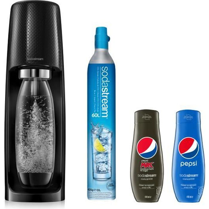 SODASTREAM Sodastream Spirit Plus Concentrés Pepsi