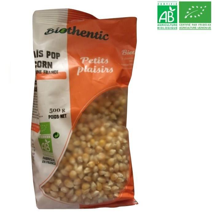 Maïs pop corn - Bio - 500g