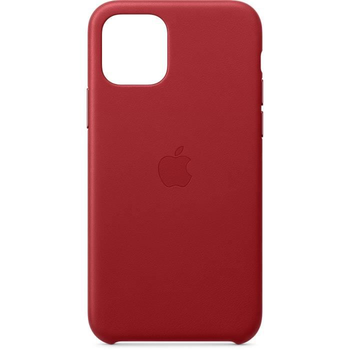 apple coque cuir product red pour iphone 11 pro