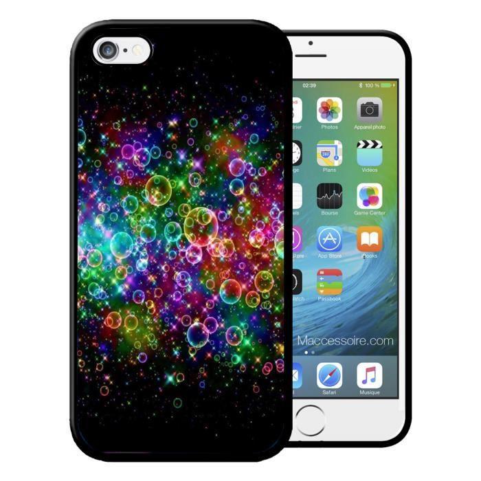 Pour iPhone 5C - Coque iPhone et Samsung Bulle Mul
