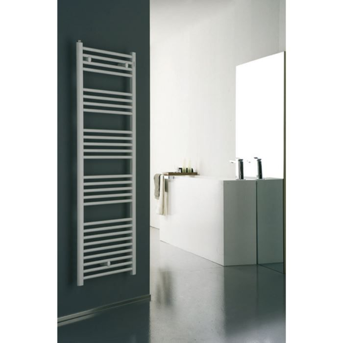 radiateur s che serviettes eau chaude plat bl achat vente seche serviette radiat seche. Black Bedroom Furniture Sets. Home Design Ideas