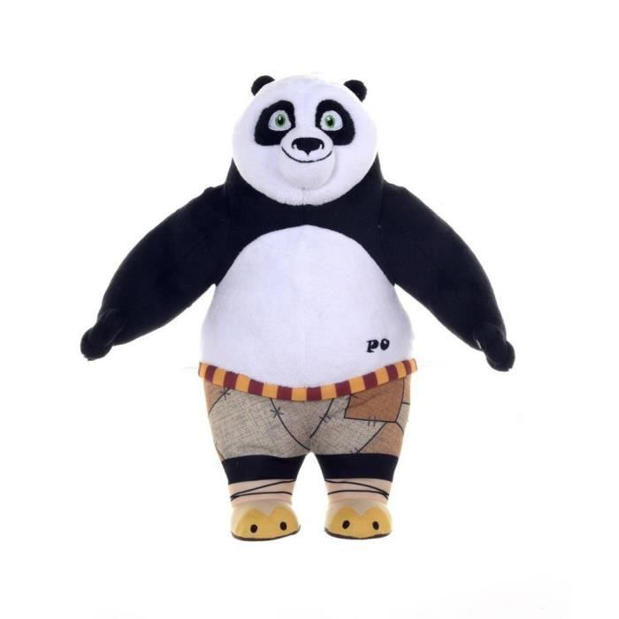 peluche po 25 cm kung fu panda 3 debout achat vente peluche cdiscount. Black Bedroom Furniture Sets. Home Design Ideas